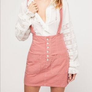 Free People Forever Young Suspender Jumper